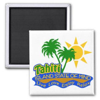 Tahiti State of Mind magnet