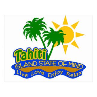 Tahiti State of Mind postcard