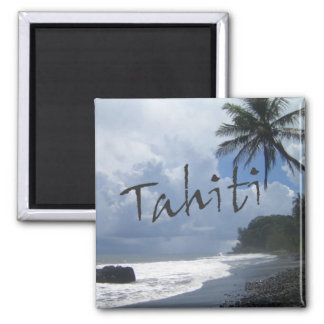 Tahiti Travel Souvenir Photo Fridge Magnets