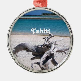 Tahitian Beach Christmas Ornament