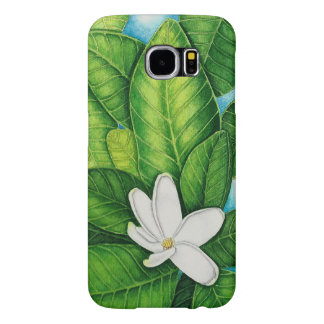 Tahitian Gardenia Samsung Galaxy S6 Cases