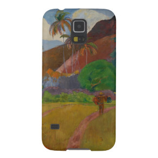 Tahitian Landscape 1891 oil on canvas Case For Galaxy S5
