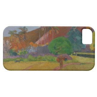 Tahitian Landscape 1891 oil on canvas iPhone 5 Case