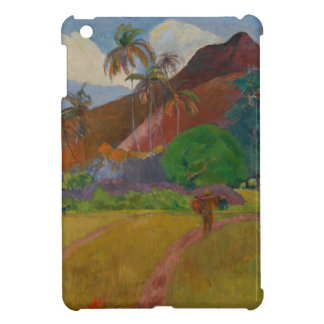 Tahitian Landscape, 1891 (oil on canvas) Case For The iPad Mini