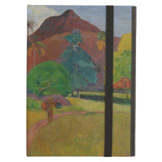Tahitian Landscape 1891 oil on canvas iPad Cover