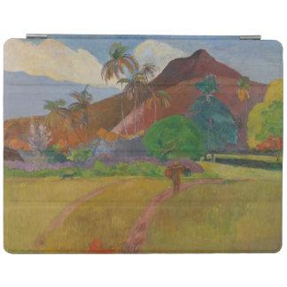 Tahitian Landscape, 1891 (oil on canvas) iPad Cover