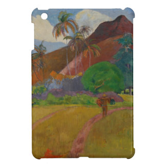 Tahitian Landscape, 1891 (oil on canvas) iPad Mini Covers