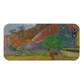 Tahitian Landscape, 1891 (oil on canvas) iPhone 5 Cover