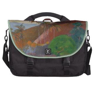 Tahitian Landscape 1891 oil on canvas Laptop Commuter Bag