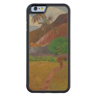 Tahitian Landscape, 1891 (oil on canvas) Maple iPhone 6 Bumper