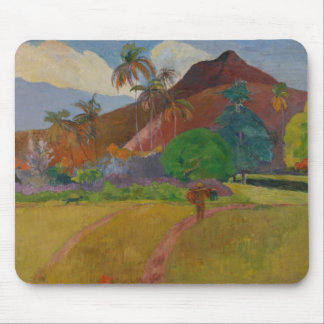 Tahitian Landscape, 1891 (oil on canvas) Mouse Mat