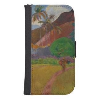 Tahitian Landscape 1891 oil on canvas Phone Wallet Case