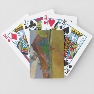 Tahitian Landscape 1891 oil on canvas Playing Cards