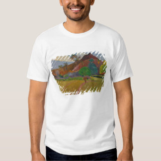 Tahitian Landscape, 1891 (oil on canvas) T-shirts