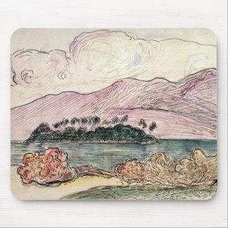 Tahitian Landscape (w/c on paper) Mouse Mat