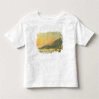 Tahitian War Galleys in Matavai Bay, Tahiti, 1766 Toddler T-Shirt