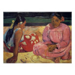 Tahitian Women on the Beach - Paul Gauguin Print