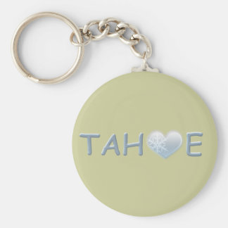 TAHOE BASIC ROUND BUTTON KEY RING