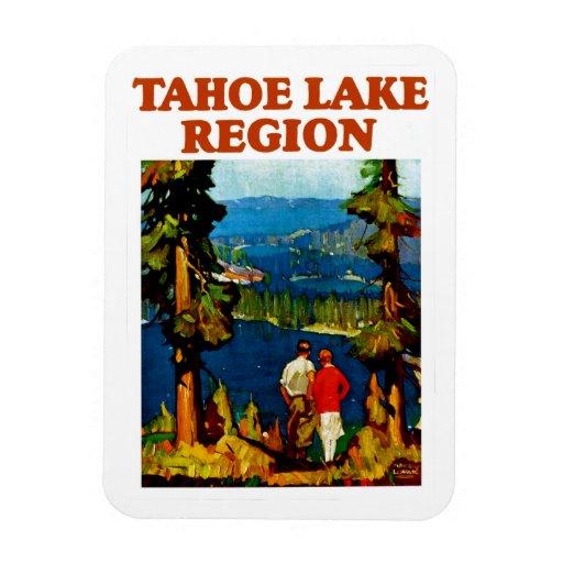 Tahoe Lake Region Rectangle Magnet