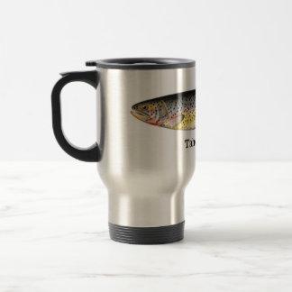 Tahoe Trout Fish Stainless Steel Travel Mug