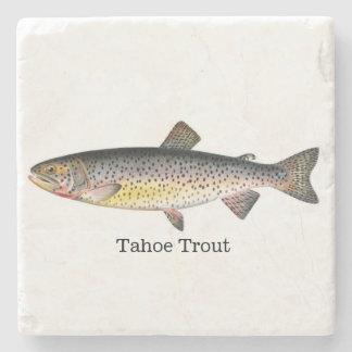 Tahoe Trout Fish Stone Coaster