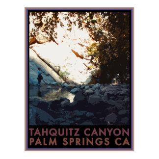 Tahquitz Canyon Postcard