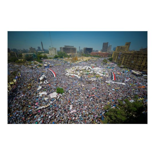 Tahrir Square Egypt July 29 2011 Friday of Unity Poster