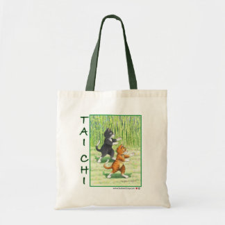 Tai Chi Cats Bud & Tony Bag