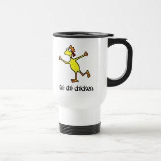 Tai Chi Chicken Stainless Steel Travel Mug