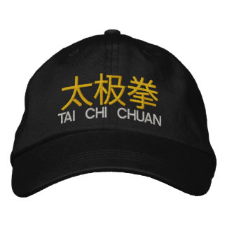 Tai Chi Chuan Embroidered Embroidered Hat