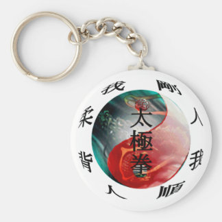 Tai Chi Classics Key Chain