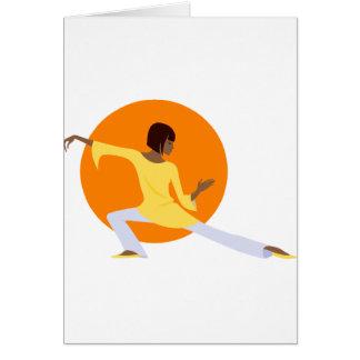 Tai Chi Greeting Card