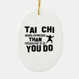TAI CHI MARTIAL arts gifts Christmas Ornament