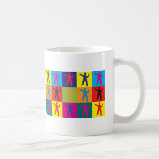 Tai Chi Pop Art Basic White Mug