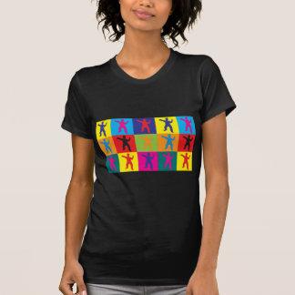 Tai Chi Pop Art T Shirt
