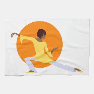 Tai Chi Tea Towel