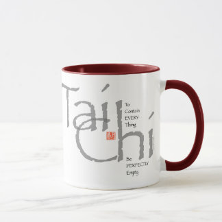 Tai Chi 'To Contain Everything' Graphic Mug