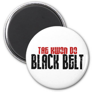 Tai Kwan Do Black Belt Karate Magnet
