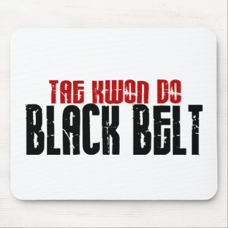 Tai Kwan Do Black Belt Karate Mouse Mat
