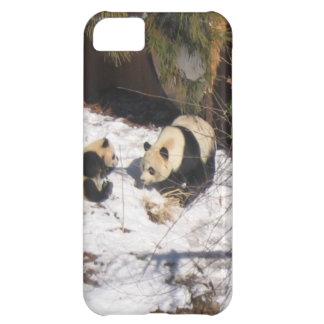 Tai Shan and Mei Xiang, giant panda bears iPhone 5C Case