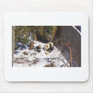 Tai Shan and Mei Xiang, giant panda bears Mouse Pad