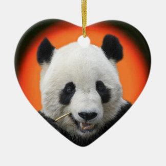 TAI SHAN CERAMIC HEART DECORATION