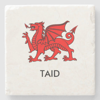 Taid - North Welsh Grandad Coaster Stone Beverage Coaster