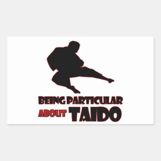taido    Designs Rectangle Stickers