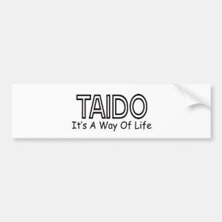 Taido It s A Way Of Life Bumper Sticker