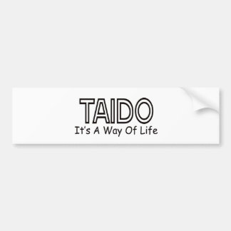 Taido It's A Way Of Life Bumper Sticker