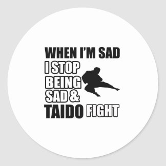 taido Martial Arts Gifts Stickers