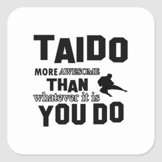 TAIDO MARTIAL arts gifts Sticker