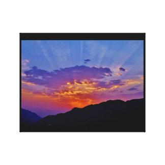Taif Sunset Canvas Print