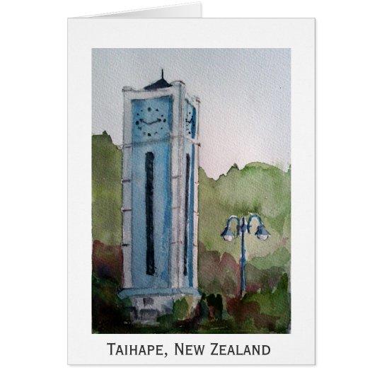Taihape, New Zealand Card